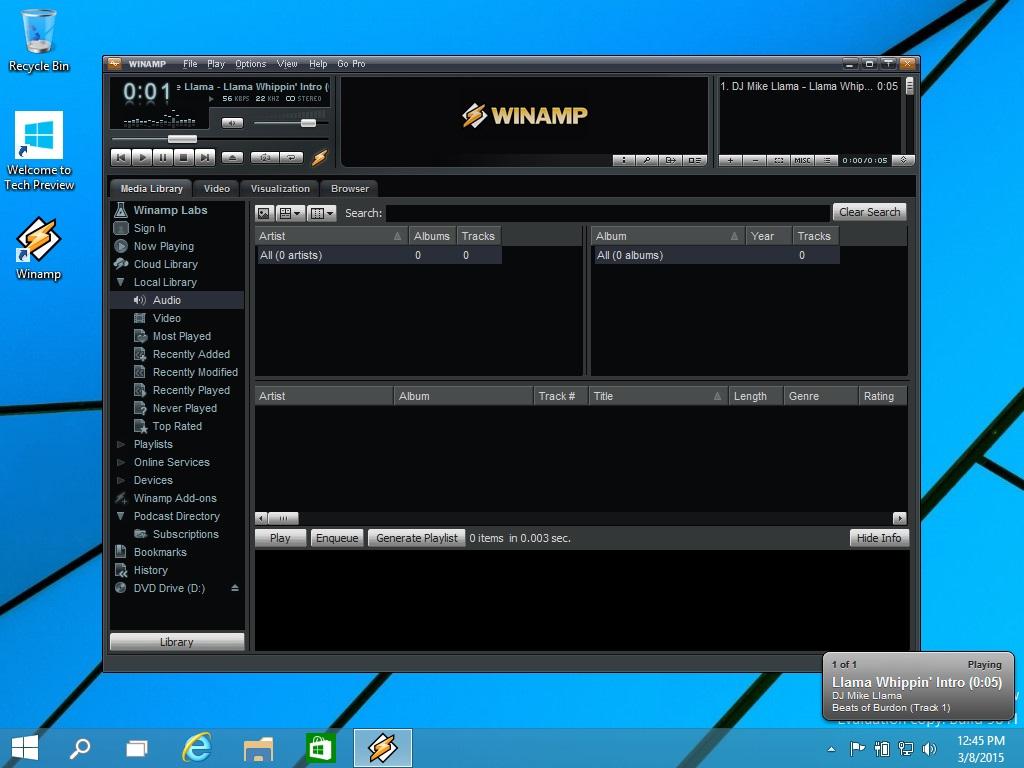Winamp download for Windows 7-Winamp latest version