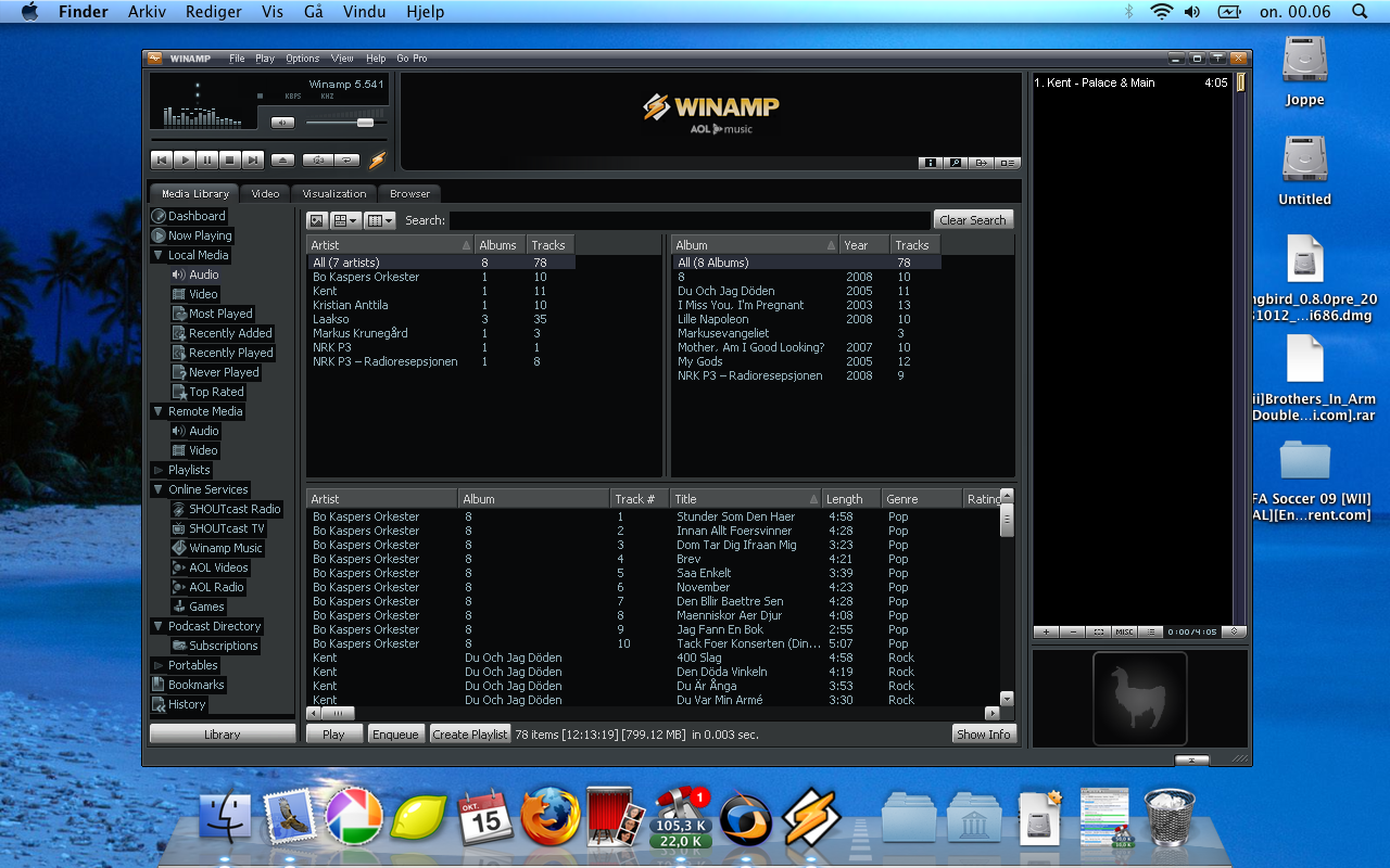 mp3 player for mac os
