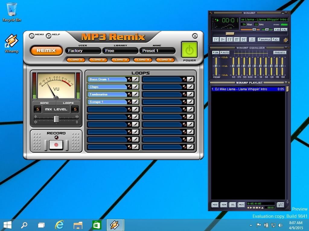 MP3 Remix Winamp | Winamp for Windows, Mac, Android