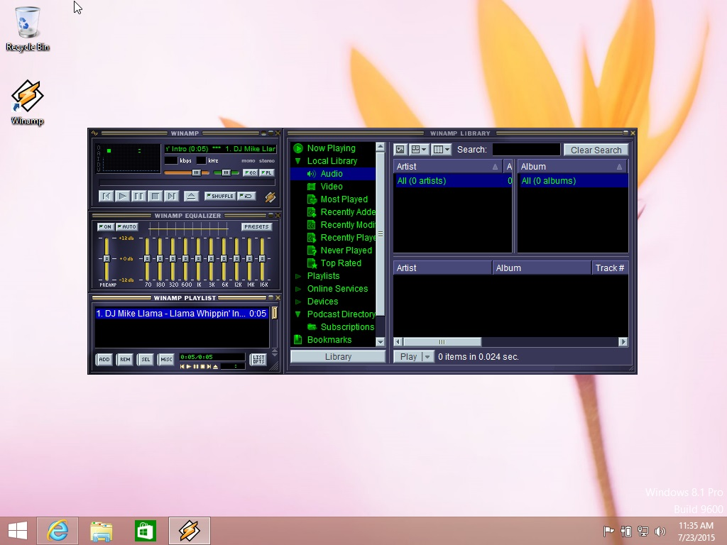 free download winamp for windows 10