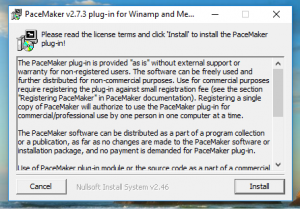 PaceMaker-Winamp