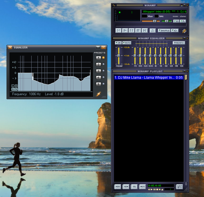 winamp equalizer use