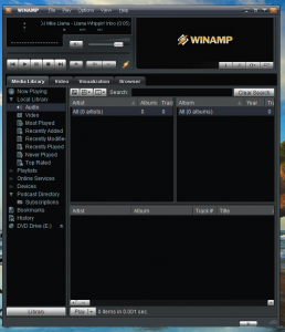 Winamp Windows-7